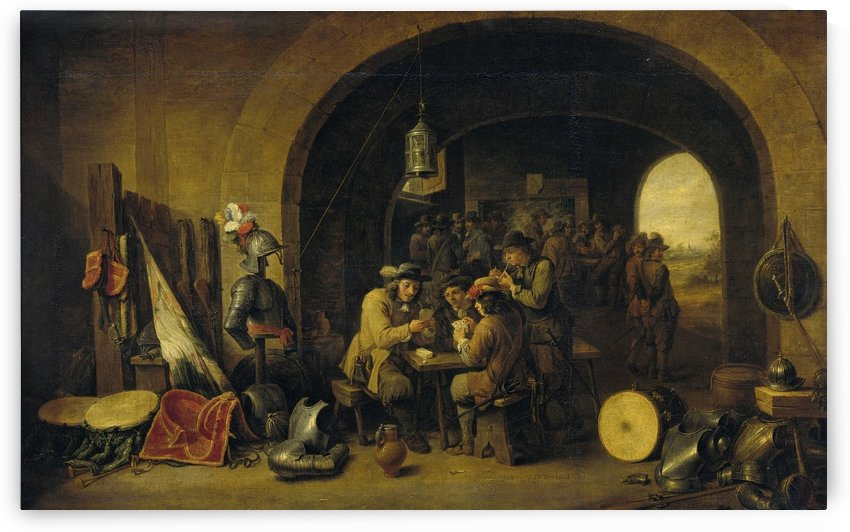 Soldatenwacht by David Teniers the Younger