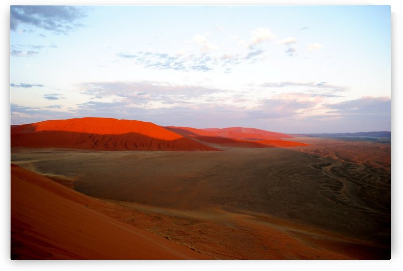 Sunrise over the red desert by Fearless Leaders Concepts