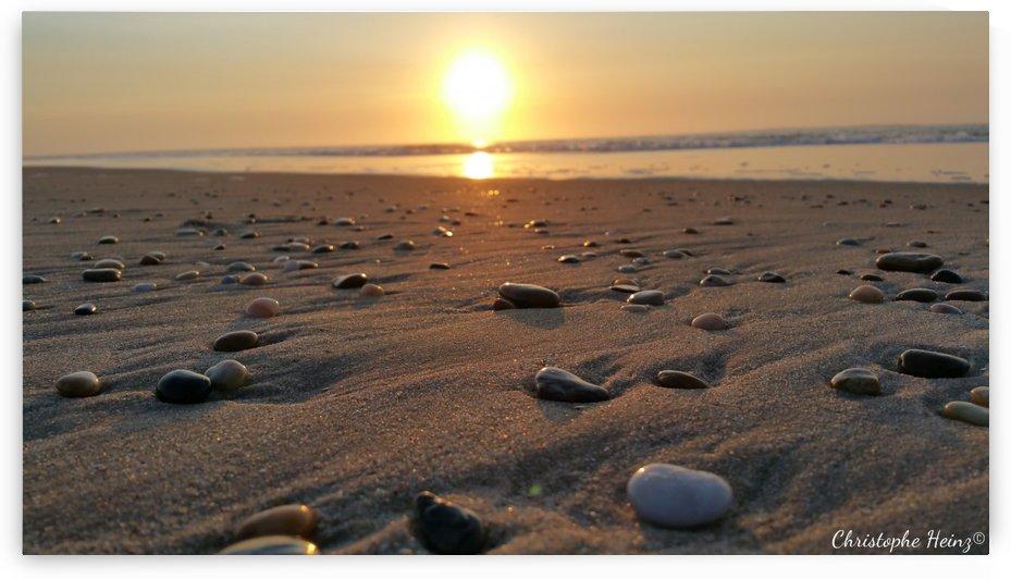 coucher de soleil galets by Christophe Heinz Photographe