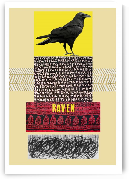 Raven  by DONNA REIBSLAGER