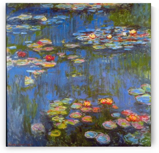 Waterlillies by Monet by Monet