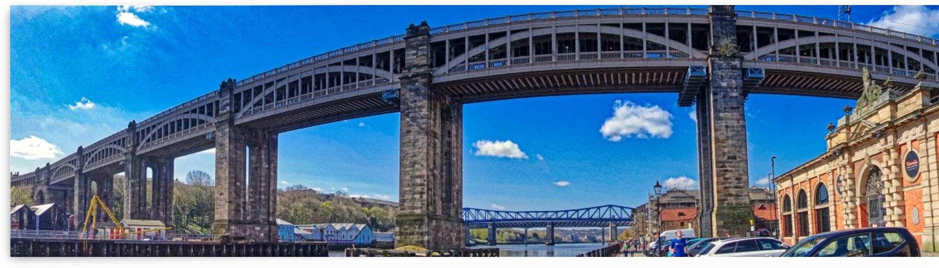 Newcastle railway bridge by Andy Jamieson