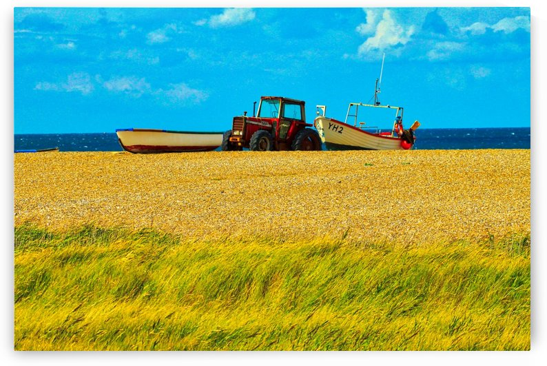 Beach Tractor by Andy Jamieson