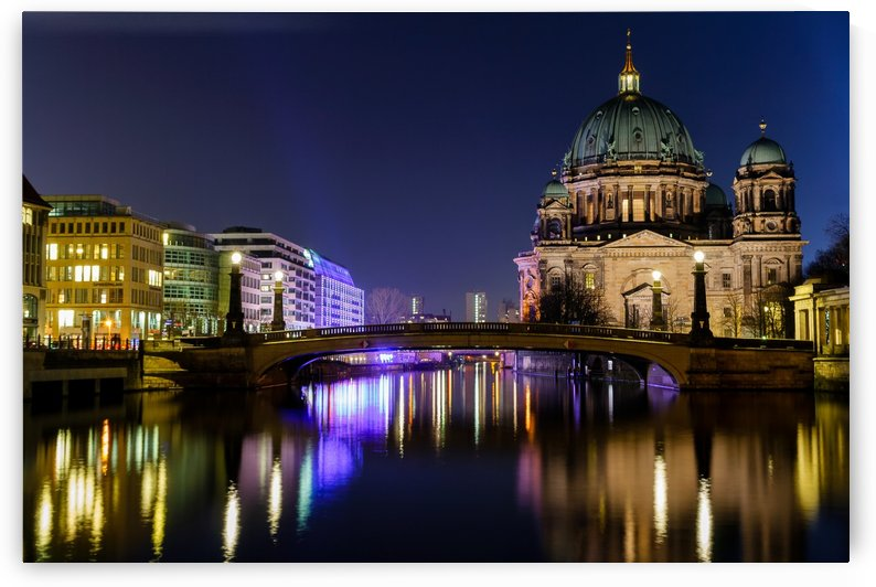 Berlin Cathedral at Night - Germany by NPV