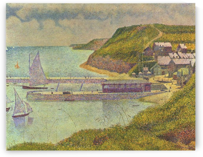 Port-en-Bessin by Georges Seurat