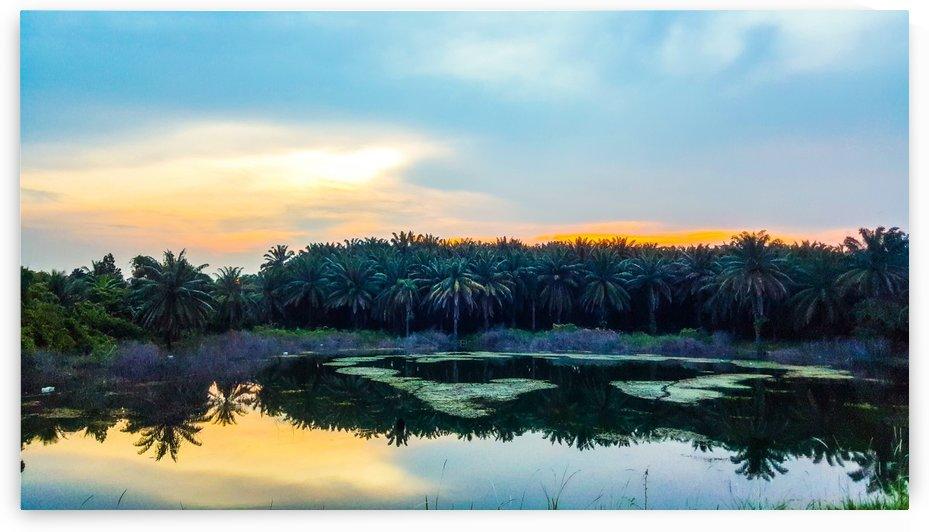 Sunset Lake by NG CHONG YU