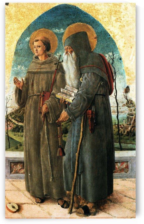San Francesco e San Gerolamo by Giorgio Schiavone