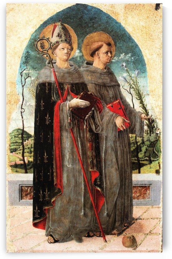 San Ludovico e Antonio by Giorgio Schiavone