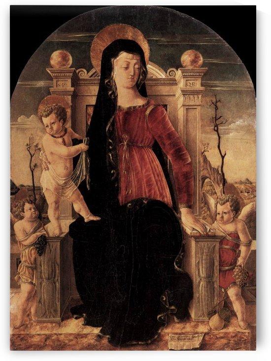 Schiavone, madonna in trono, berlino by Giorgio Schiavone