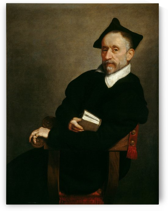 Schoolmaster by Giovanni Battista Moroni