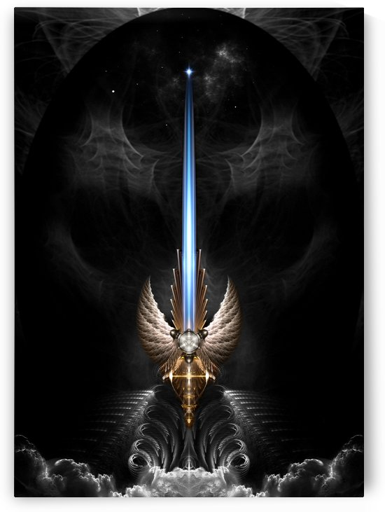 Angel Wing Sword Of Arkledious DGS by xzendor7