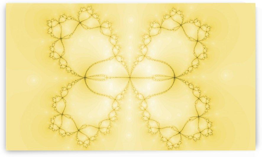 Yellow Fractal by Nina