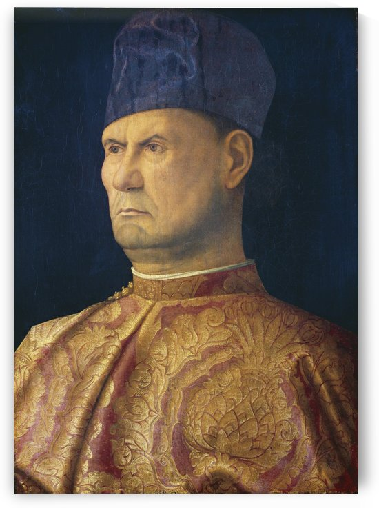 Portrait of Giovanni Emo by Giovanni Bellini
