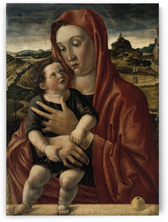 Madonna with Child by Giovanni Bellini