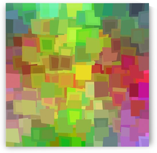 Vivid Squares by Bruce Rolff