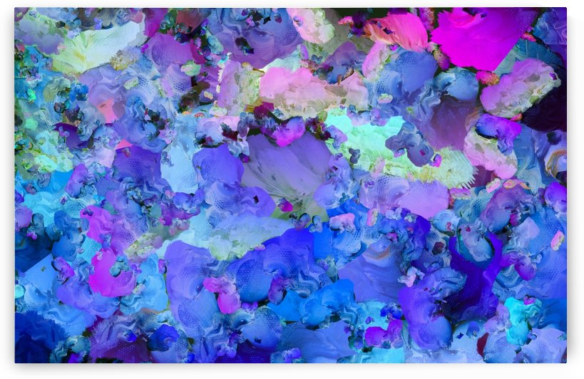 Colorful Abstract Painting by Bruce Rolff