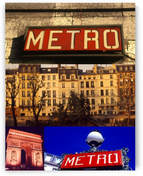 PARIS COLLAGE by Tamarra Views
