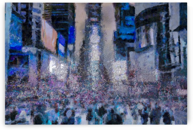 Times Square by Bruce Rolff