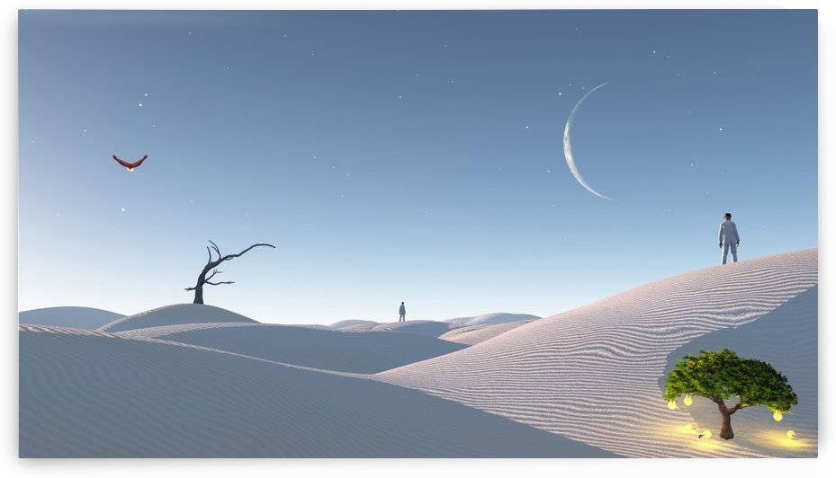 Desert of Dreams by Bruce Rolff