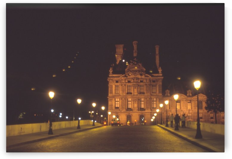 MIDNIGHT at the LOUVRE  by Tamarra Views