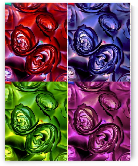 PSYCHEDELIC ROSES  by Tamarra Views