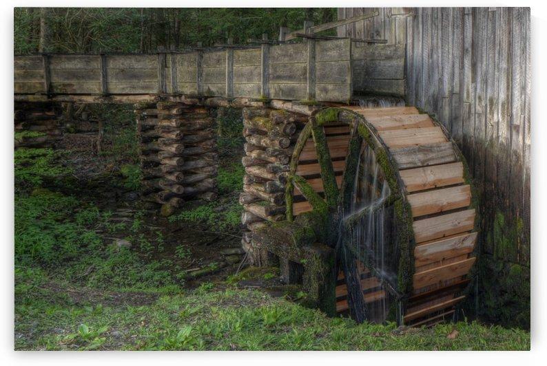 301-Mill Wheel by Paul Winterman