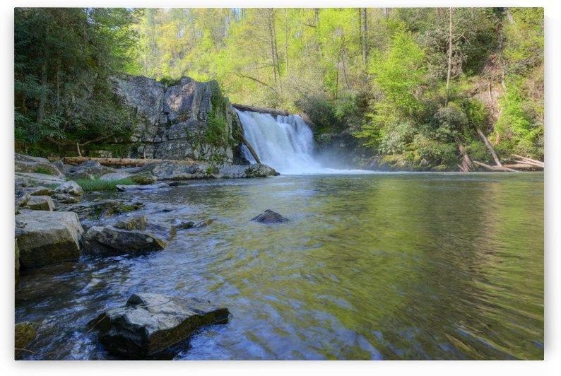 305-Abram Falls by Paul Winterman
