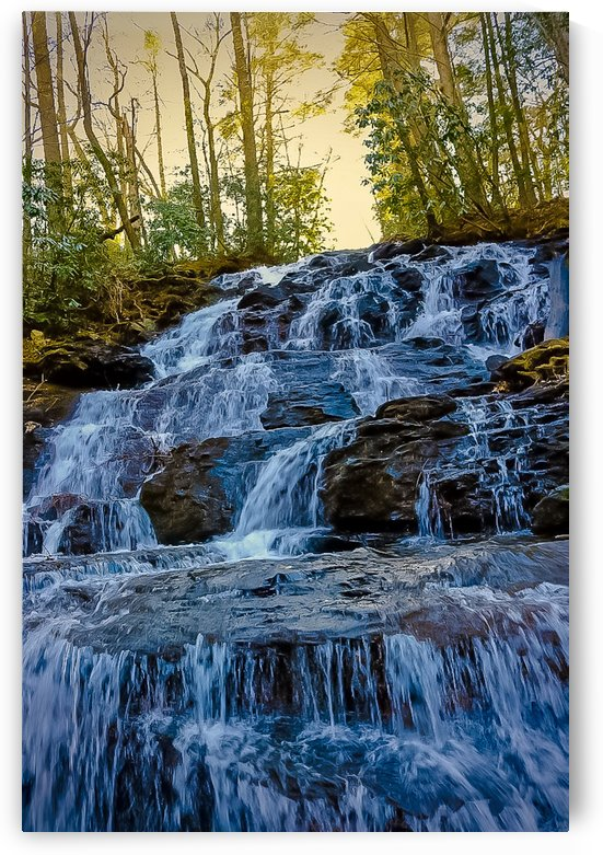 Waterfall in the Woods by Fogg Photography LLC