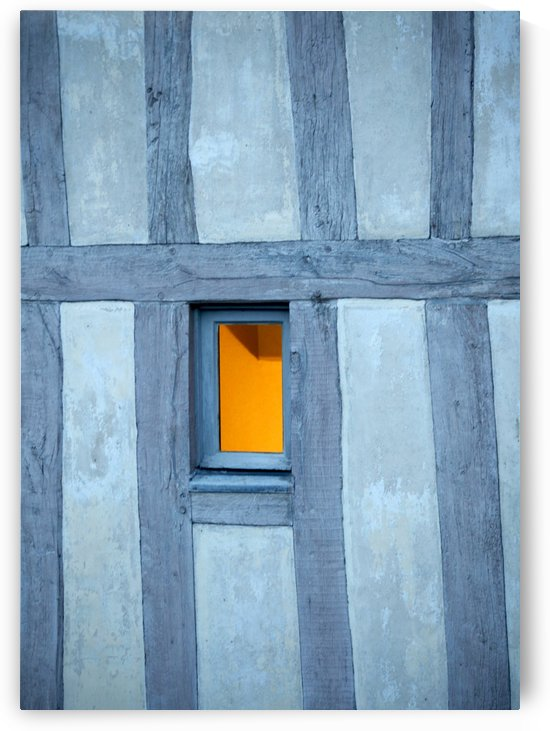 Mont Saint Michel Window by Maria Virginia Castro