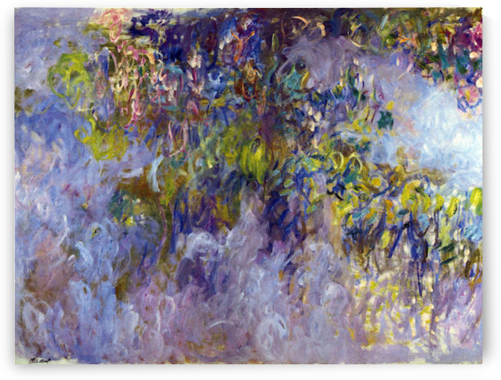 Wisteria -1- by Monet by Monet