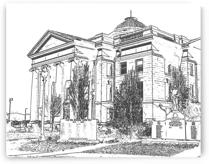BoCoMo Courthouse  by Jim Jones