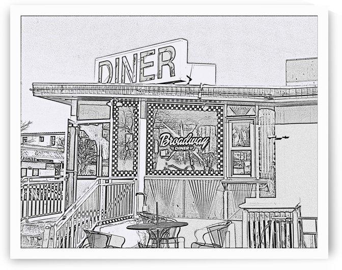 Broadway Diner by Jim Jones