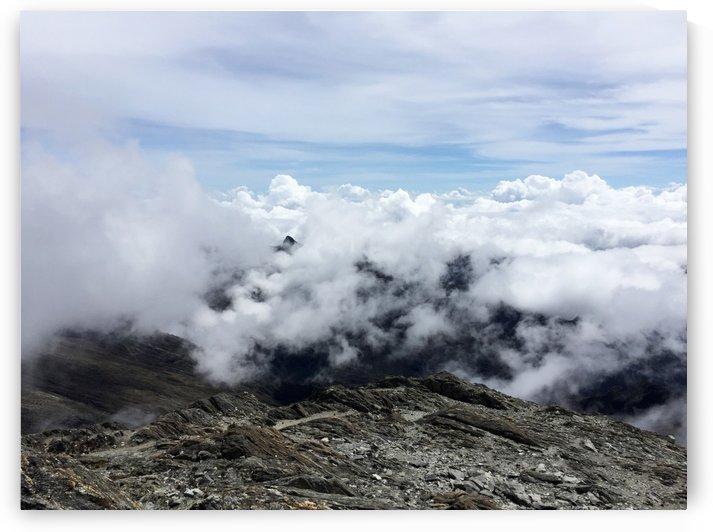 Mountain Top by Maria Virginia Castro