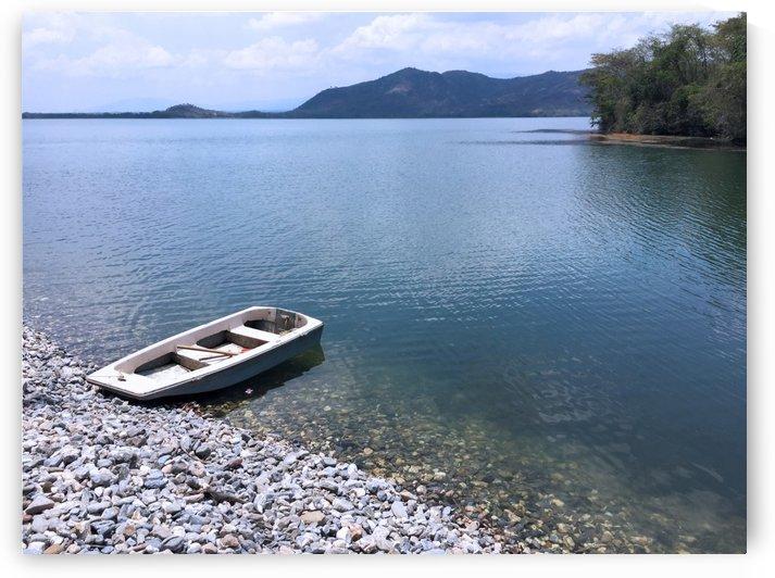 Peaceful Lake by Maria Virginia Castro