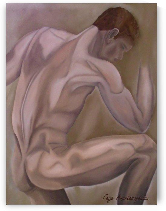 The Thinker by Fotini Anastasopoulou