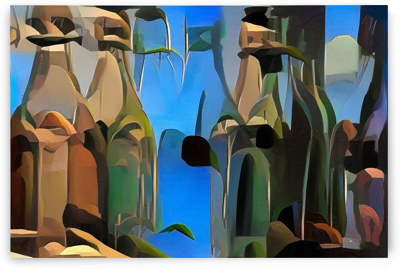 Colorful Bottles by Bruce Rolff