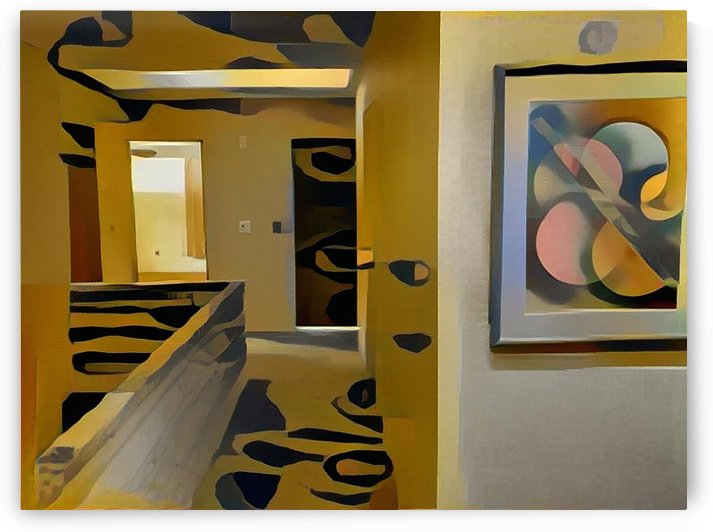 Abstract room by Bruce Rolff