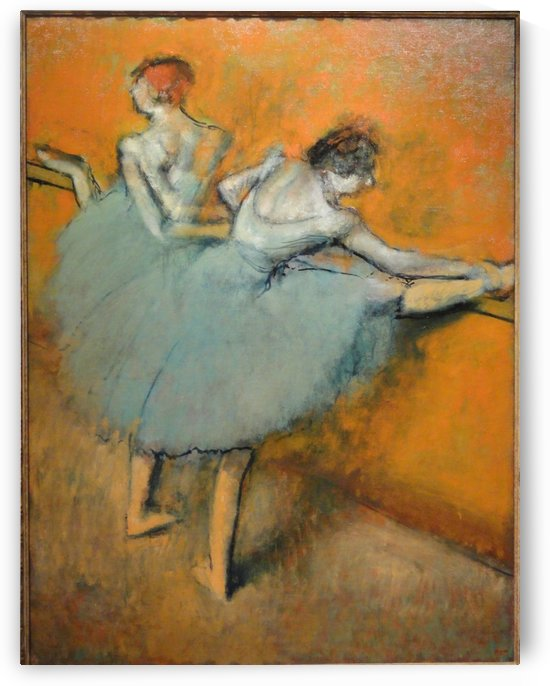 Dancers at the Barre by Hilaire-Germain-Edgar Degas