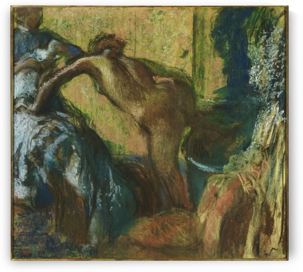 After the Bath by Hilaire-Germain-Edgar Degas