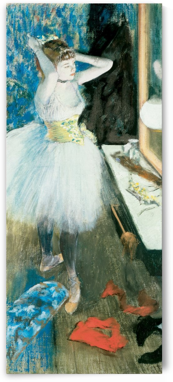 Dancer in Her Dressing Room by Hilaire-Germain-Edgar Degas