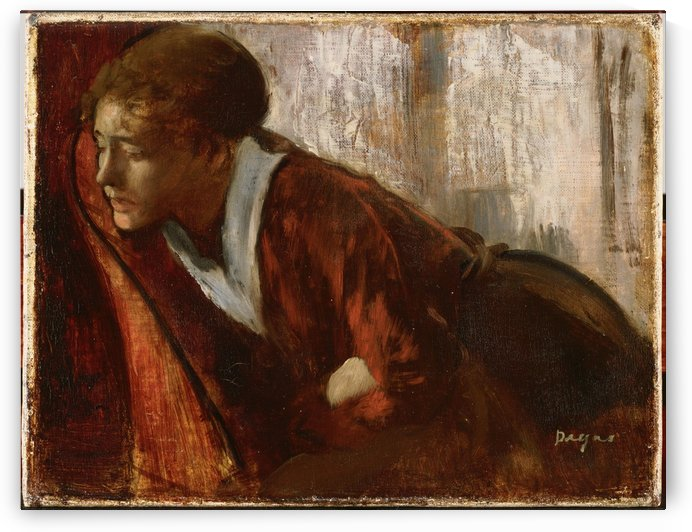 Melancholy by Hilaire-Germain-Edgar Degas
