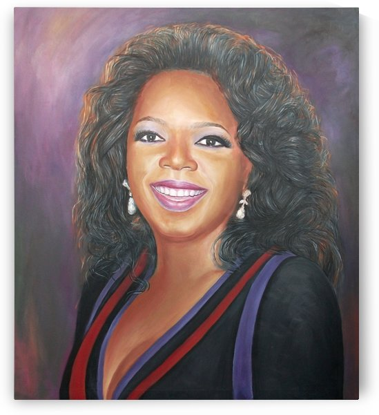 Oprahs Portrait by sirsteve