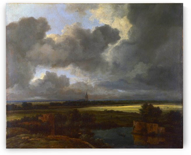 2nd third of 17th century by Jacob van Ruisdael