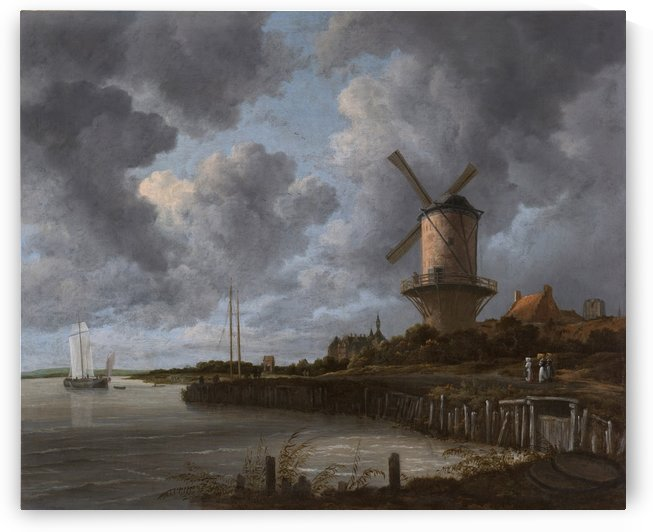 The Windmill at Wijk bij Duurstede by Jacob van Ruisdael