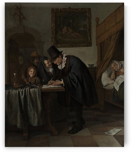 The Doctors Visit by Jan Steen