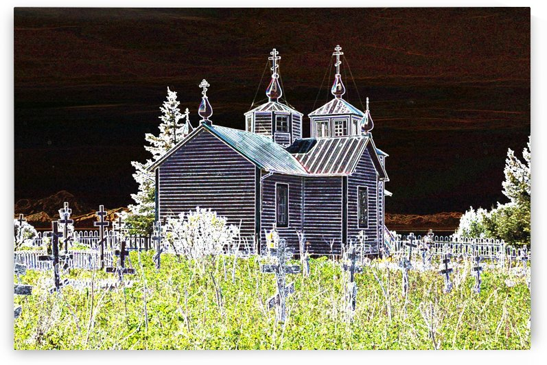 Church in Alaska by Jim Jones