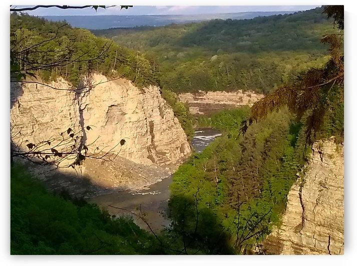 Letchworth Gorge by pyro