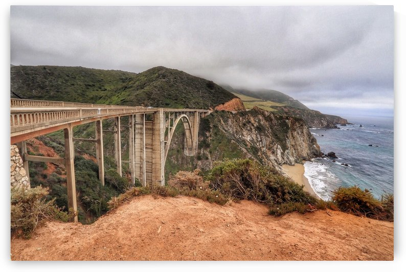 Bixby Bridge California by RNK ALL DAY