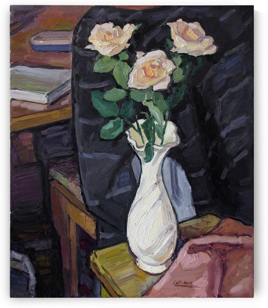 Three Roses by Ivan Kolisnyk