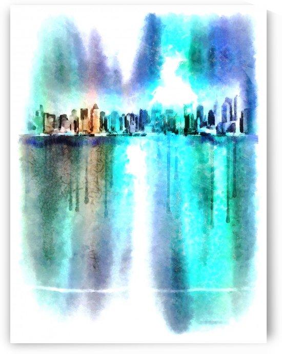 Manhattan by Bruce Rolff